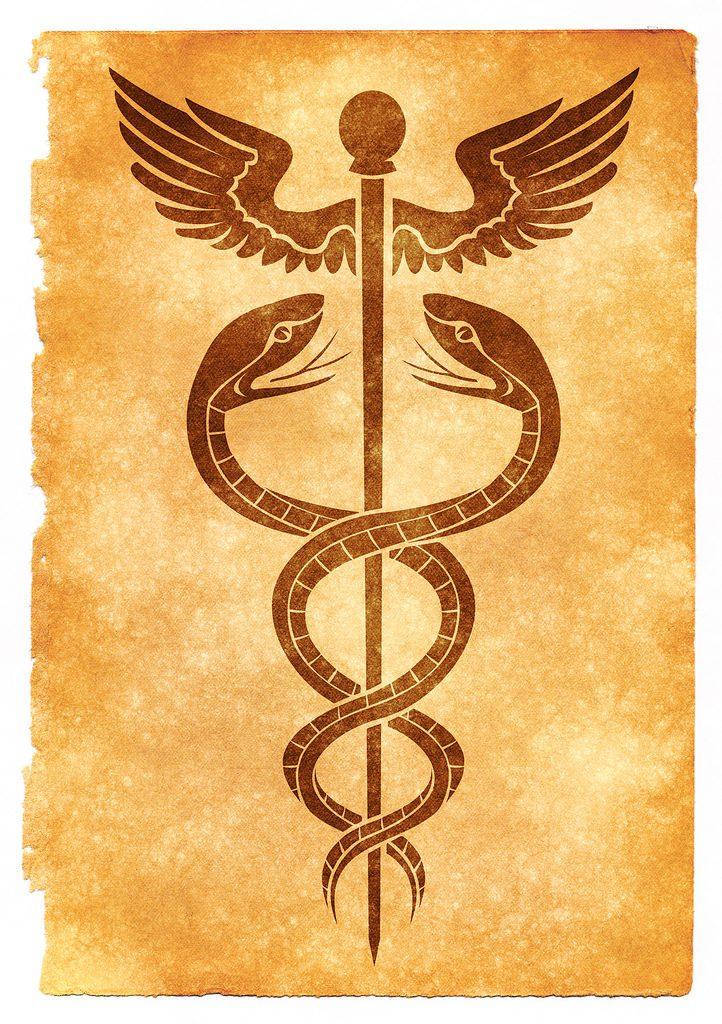Klerikej_Caduceus_simbol
