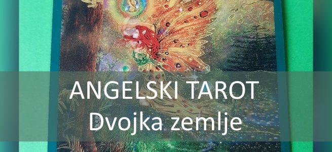 Angelski tarot DVOJKA ZEMLJE