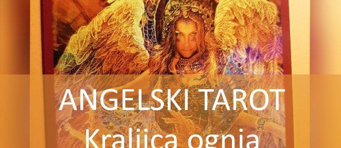 ANGELSKI TAROT Kraljica ognja