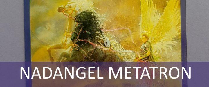 ANGELSKI TAROT – KOČIJA Nadangel Metatron